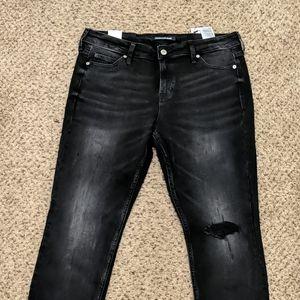 Calvin Klein Jeans - Distressed Super Skinny Jeans